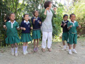 Annie Taylor teaching 2013