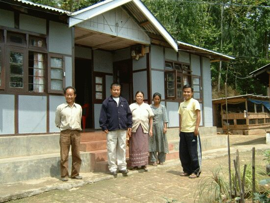 A typical homestay family